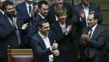 Αλέξης Τσίπρας: Σήμερα το Κοινοβούλιο έδωσε ψήφο εμπιστοσύνης στη σταθερότητα και την ανάκτηση της διεθνούς αξιοπιστίας της χώρας