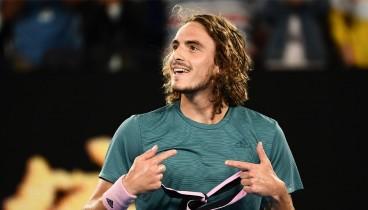 Ξημερώματα Τρίτης ο αγώνας του Τσιτσιπά στους «8» του αυστραλιανού Open