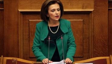 Ερώτηση στη Βουλή για το αν εισπράττει δύο μισθούς η Μ. Χρυσοβελώνη