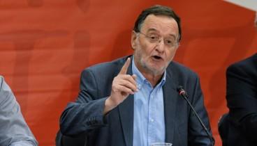 Για πολιτική ομηρία κατηγορεί την κυβέρνηση ο Π. Λαφαζάνης