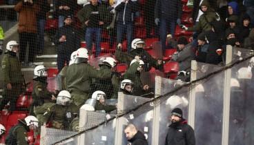 """Ένταση μεταξύ Ουκρανών και αστυνομίας στο """"Γ. Καραϊσκάκης"""""""