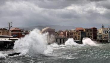 """Συναγερμός στο Ηράκλειο της Κρήτης λόγω """"Χιόνης"""""""