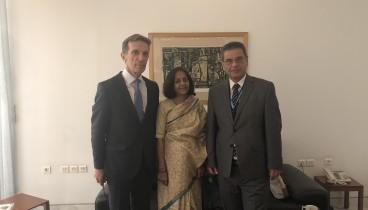Iνδία και ΔΕΘ-Helexpo προετοιμάζουν ήδη την επόμενη Έκθεση