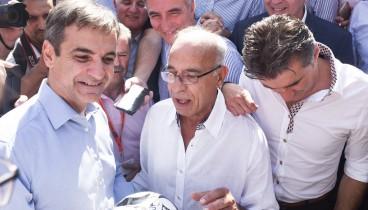 """Κ. Μητσοτάκης: """"Να είμαι εγώ αυτός που θα εγκαινιάσει το νέο γήπεδο του ΠΑΟΚ"""""""
