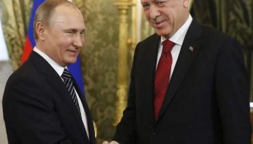 Συνάντηση Πούτιν Ερντογάν