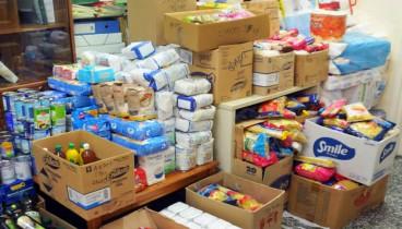 Πακέτα με τρόφιμα σε χιλιάδες άπορους πολίτες