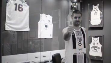 Μπάσκετ: Αυτή θα είναι η φανέλα του ΠΑΟΚ στον τελικό (video)