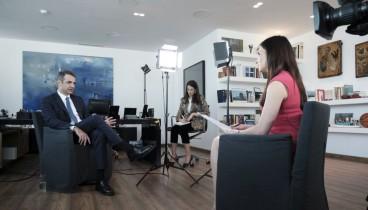 Μητσοτάκης στο CNBC: Φορολογική μεταρρύθμιση από τον πρώτο μήνα της νέα διακυβέρνησης