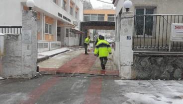 Σε ετοιμότητα για την αντιμετώπιση της κακοκαιρίας παραμένει η δημοτική αστυνομία Θεσσαλονίκης