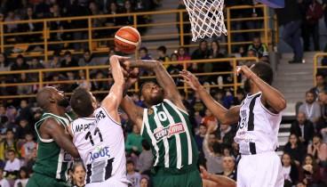 Μπάσκετ: Λύγισε στον τελικό ο ΠΑΟΚ, ήττα με 79-73 από τον Παναθηναϊκό