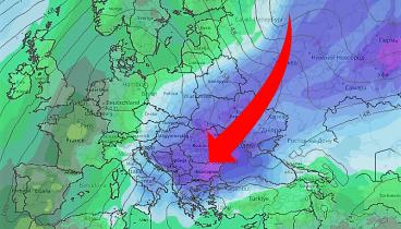 Σφοδρό κύμα κακοκαιρίας, η «Ωκεανίς» με χιόνια και παγετό