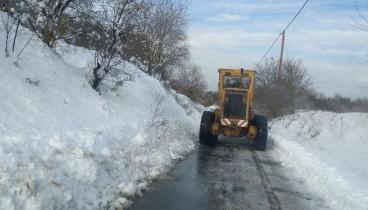 Σε ετοιμότητα ο δήμος Θέρμης για επικείμενη χιονόπτωση το Σάββατο 23 Φεβρουαρίου