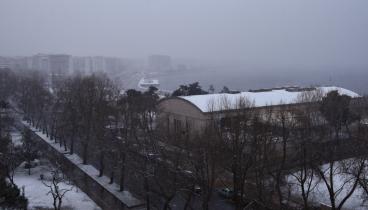 """Η """"Ωκεανίς"""" λεύκανε τη Θεσσαλονίκη (φωτογραφίες & βίντεο)"""