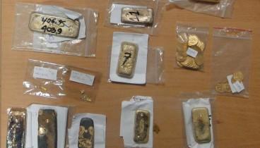 Τέσσερα κιλά λιωμένου χρυσού είχε στην κατοχή του 55χρονος στη Θεσσαλονίκη!