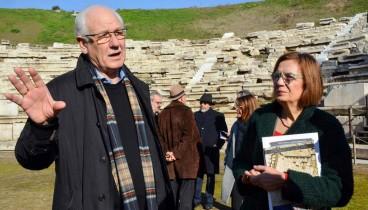 Το 2022 παραδίδεται το αρχαίο θέατρο Λάρισας