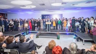 Μήνυμα νίκης από την πρώτη Κυριακή στην προεκλογική συγκέντρωση του Ιγνάτιου  Καϊτεζίδη