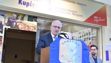 To εκλογικό κέντρο της παράταξής του στους Αμπελόκηπους εγκαινίασε ο Λ. Κυρίζογλου