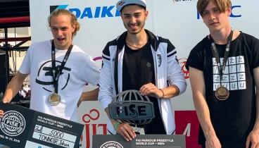 Χρυσό στο παγκόσμιο πρωτάθλημα παρκούρ κατάκτησε ο Δ. Κρυσανίδης από τη Θεσσαλονίκη