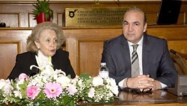 Στη Θεσσαλονίκη προσκεκλημένη του ΕΒΕΘ και του ΣΒΕ η Β. Θάνου