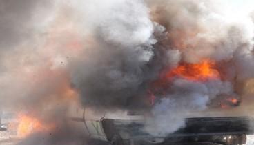 Κάηκε ολοσχερώς αυτοκίνητο στο Λάκκωμα