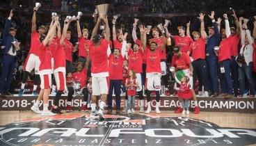 Μπάσκετ: Πρωταθλήτρια Ευρώπης η ΤΣΣΚΑ Μόσχας (videos)