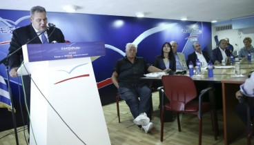 Εκτός γραμμής ΑΝΕΛ για τη συμφωνία των Πρεσπών ο Θ. Παπαχριστόπουλος