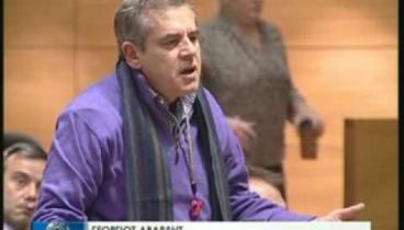 Απειλές για τη ζωή του δέχτηκε ο δημοτικός σύμβουλος Θεσσαλονίκης Γιώργος Αβαρλής