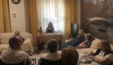 Ενημέρωση για την νόσο Αλτσχάιμερ στην μονάδα ηλικιωμένων «Άγιος Ελευθέριος»