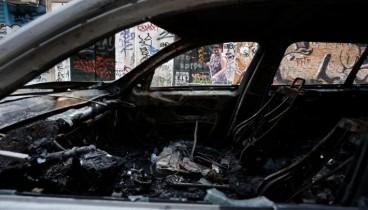 Θεσσαλονίκη: Στις φλόγες τα ξημερώματα τρία αυτοκίνητα στην παλιά Λαχαναγορά