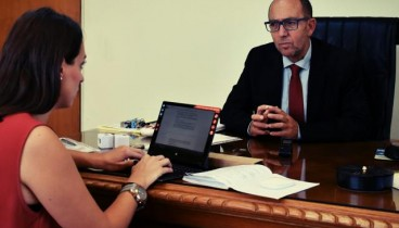 Στ. Κατρανίδης: Θέλω να αλλάξω το κλίμα στο πανεπιστήμιο