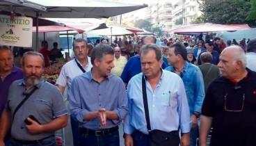 Οι Κρητικοί ζήλεψαν τη λαϊκή αγορά της Καυτατζόγλου