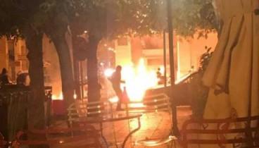 Επίθεση με μολότοφ κατά της αστυνομικής διεύθυνσης Αχαΐας