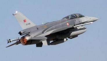Υπερπτήση τουρκικών F-16 στα Δωδεκάνησα