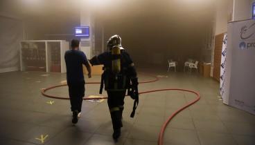 Από βραχυκύκλωμα προκλήθηκε η φωτιά στο Ολυμπιακό Μουσείο της Θεσσαλονίκης