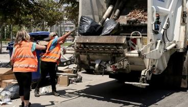 Συνεχίζουν τις κινητοποιήσεις οι εργαζόμενοι στην καθαριότητα του δήμου Θεσσαλονίκης