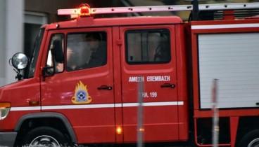 Μόνο μικρές υλικές ζημιές από πυρκαγιά σε εργοστάσιο στη ΒΙΠΕ Σίνδου