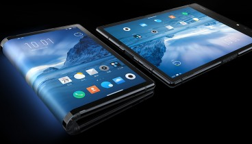 Άγνωστη εταιρία λάνσαρε το πρώτο κινητό που διπλώνει