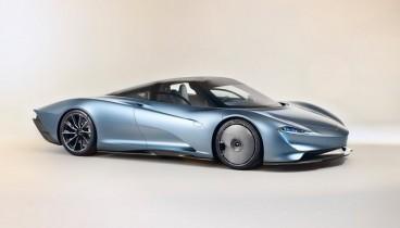 Η νέα McLaren Speedtail «πιάνει» τα 403 χλμ./ώρα