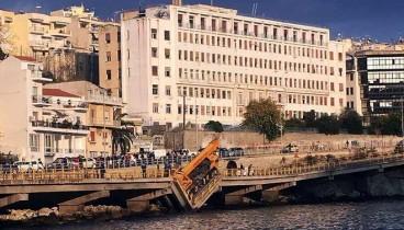 Εισαγγελική έρευνα για την κατάρρευση της γέφυρας στην Καβάλα