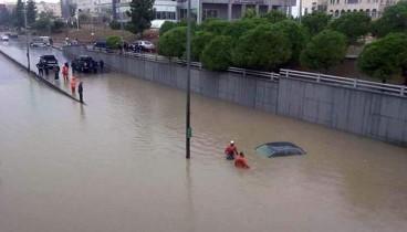 Ιορδανία: 11 νεκροί από τις πλημμύρες
