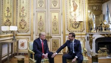 Ειρωνεύτηκε τον Μακρόν και τους Γάλλους μέσω του Twitter ο Τραμπ