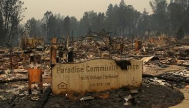 Πυρκαγιές στην Καλιφόρνια: Ο απολογισμός πλησιάζει πλέον τους 60 νεκρούς