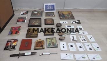 Συνελήφθη ζευγάρι αρχαιοκάπηλων στην Πέρδικα Θεσπρωτίας