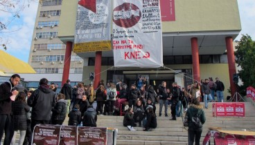 Θεσσαλονίκη: Κατάληψη στο Πολυτεχνείο από φοιτητικούς συλλόγους (photos)