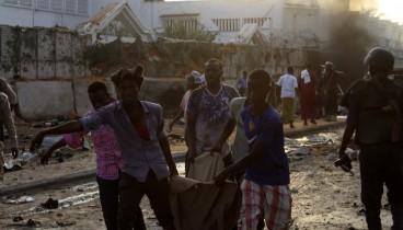 Στους 53 οι νεκροί από την επίθεση τζιχαντιστών στη Σομαλία (φωτογραφίες)