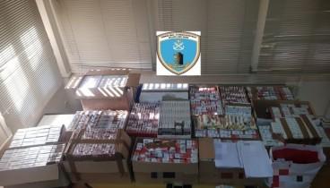 Εκατό χιλιάδες τσιγάρα κατέσχεσε η αστυνομία στη Θεσσαλονίκη