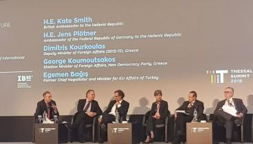 Προκλητικός ο Εγκεμέν Μπαγίς στο 3ο Thessaloniki Summit