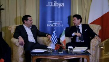 Ενισχύεται η συνεργασία Ελλάδας - Ιταλίας