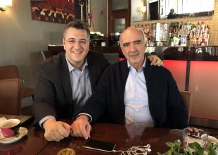 Συνάντηση Τζιτζικώστα - Μεϊμαράκη στη Θεσσαλονίκη